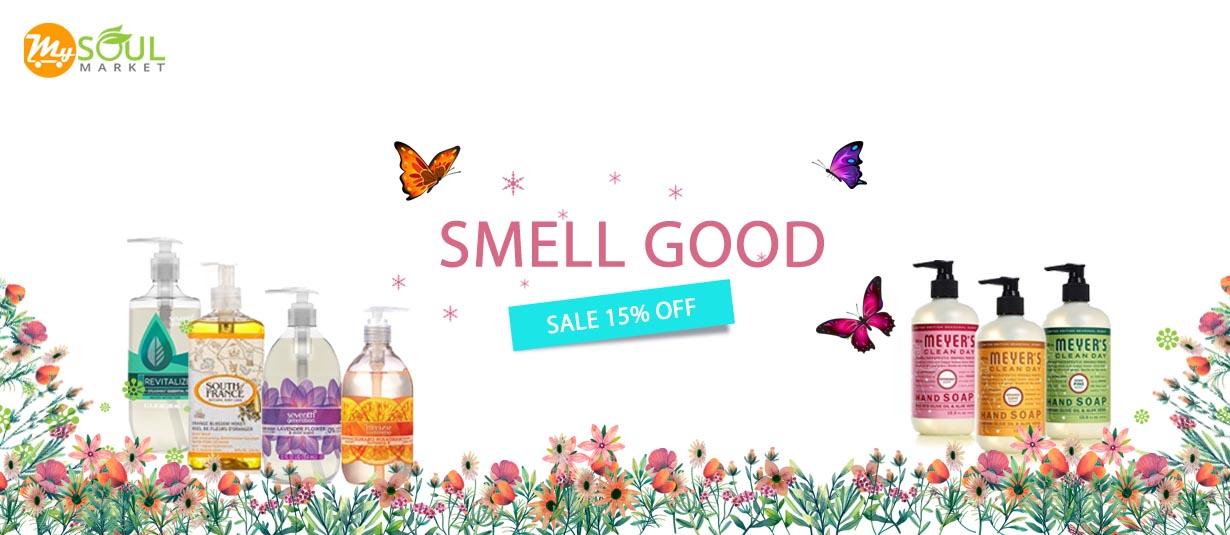 Smell good