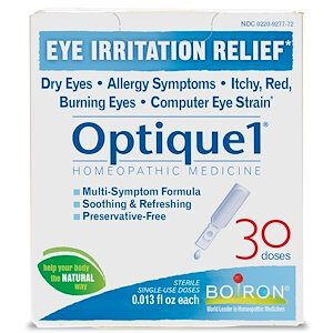 Boiron, Optique 1, Eye Irritation Relief, 30 Doses, 0.013 fl oz Each