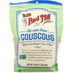Bob's Red Mill, Tri-Color Pearl Couscous, 16 oz
