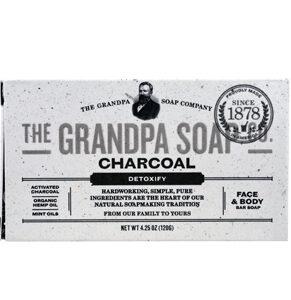 Grandpa Soap Soap - Charcoal - 4.25 oz