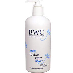 Beauty Without Cruelty Fragrance Free Hand & Body Lotion 16 fl oz