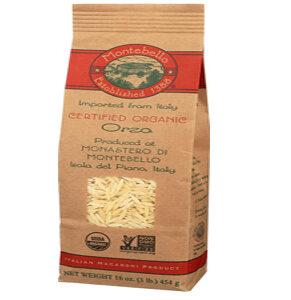 Montebello Organic Pasta Orzo -- 16 oz
