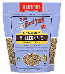 Bob's Red Mill Rolled Oats Old fashioned Gluten Free -- 32 oz