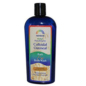 Rainbow Research Colloidal Oatmeal Bath and Body Wash - Fragrance Free - 12 oz