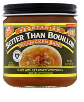 Better Than Bouillon Vegetarian No Chicken Base -- 8 oz