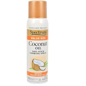 Spectrum Coconut Oil Non-Stick Cooking Spray -- 16 oz